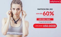 Quà ngon 8/3: Giảm đến 60 % tai nghe Partron PBH-300 tại CellphoneS
