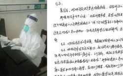 """Nữ bác sĩ sắp về hưu tình nguyện quay lại bệnh viện trực chiến vì dịch viêm phổi Vũ Hán, bức thư xin lỗi con trai """"dậy sóng"""" cộng đồng mạng"""