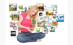 Mỹ: Chỉ 20% thời gian dùng điện thoại để lướt web