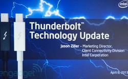 Intel công bố chuẩn Thunderbolt thế hệ mới, băng thông lên tới 40Gbps