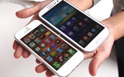 Lượng người ủng hộ Galaxy S4 vượt trội iPhone 5