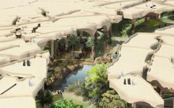 Độc đáo công viên dưới lòng sa mạc