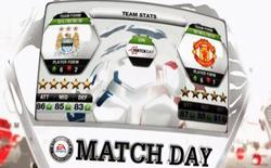 FIFA 13: Cập nhật từng giờ bóng đá thế giới với Match Days