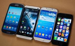 Galaxy S4 đọ màn hình cùng HTC One, Xperia Z, Lumia 920 và iPhone 5