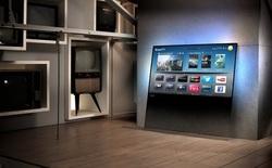 Philips ra mắt DesignLine TV với thiết kế như một tấm kính
