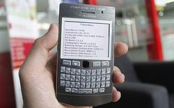 """Độc đáo dịch vụ """"độ vỏ"""" BlackBerry tại Việt Nam"""