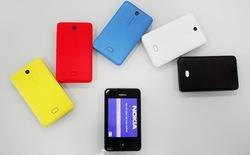 Cận cảnh Asha 501, smartphone giá rẻ mới của Nokia