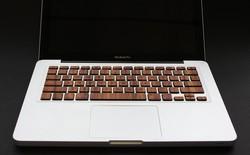 Đổi gió cho MacBook với bàn phím gỗ