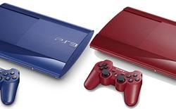 PlayStation 3 Super-Slim bản giới hạn màu đỏ và xanh dương sắp bán ra tại Anh