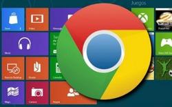 Sửa lỗi không về được chế độ Modern UI cho Google Chrome trên Windows 8