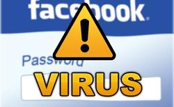 """Xuất hiện virus """"cướp"""" tài khoản Facebook"""