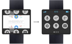 Đồng hồ thông minh của Google sẽ không có viền màn hình