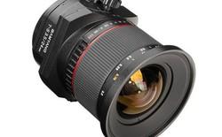 Samyang bán ống kính tilt-shift với giá rẻ hơn một nửa so với Canon