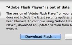 Apple ép buộc người dùng nâng cấp Flash Player mới