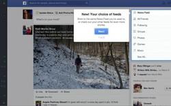Soi giao diện mới cực ấn tượng của Facebook