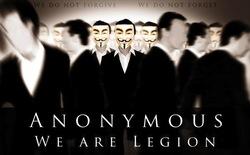 Anonymous giật sập website Bộ Tư pháp Mỹ