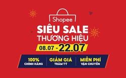 """Shopee khởi động chương trình """"Siêu Sale Thương Hiệu"""" với hàng nghìn sản phẩm chính hãng giá rẻ vô địch"""