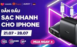 Aukey mở bán combo sạc nhanh 18W cao cấp dành riêng cho iPhone với giá siêu hời, tiết kiệm hơn 1.000.000đ