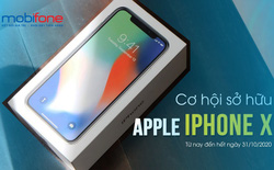 Cơ hội sở hữu iPhoneX chỉ với 90k cùng MobiFone