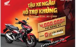 """Honda Việt Nam triển khai chương trình ưu đãi hấp dẫn nhất năm cho khách hàng mua xe WINNER X - """"Tậu xe ngầu – Hỗ trợ khủng"""""""