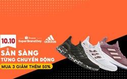"""Adidas tổ chức ngày siêu thương hiệu đầu tiên tại Đông Nam Á trong chuỗi sự kiện """"Shopee 10.10 Ngày Sale Thương Hiệu"""""""