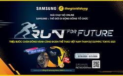 Tham gia giải chạy bộ online Run For Future cổ vũ Olympic Việt Nam cùng Thế Giới Di Động