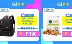 Tiki sale 11.11: Tung sản phẩm chỉ 11K và 111K, hàng công nghệ giảm đến 50%!