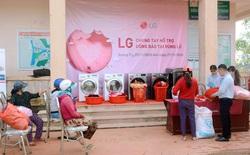 LG chung tay hỗ trợ đồng bào tại vùng lũ với các hoạt động thiết thực