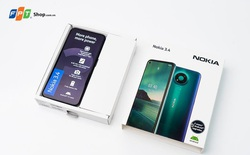 Nokia 3.4 ra mắt: Giảm đến 500.000 đồng, trả góp 0% lãi suất tại FPT Shop