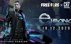 Cristiano Ronaldo trở thành Đại sứ toàn cầu của Free Fire, nhân vật huyền thoại Chrono chuẩn bị ra mắt