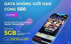 Tận hưởng 5GB từ gói cước S50 - Yên tâm săn quà online Head to 2021