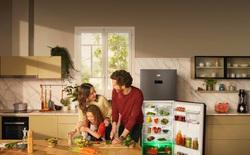 Tủ lạnh công nghệ ánh sáng vi chất HarvestFresh của Beko giúp bảo quản rau củ chuẩn châu Âu
