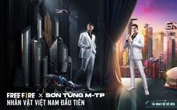 Sơn Tùng M-TP chinh phục thế giới game, trở thành nghệ sĩ Việt Nam có nhân vật trong Free Fire