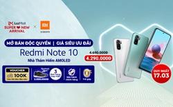 Redmi Note 10 - Nhà vô địch mới phân khúc smartphone tầm trung chính thức bán độc quyền trên Lazada, giá rẻ giật mình