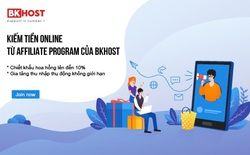 Cơ hội kiếm tiền online từ Affiliate của BKHOST cực dễ