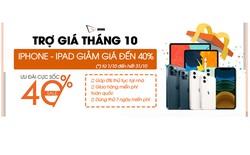 Bảng giá iPhone 11, 12, 13 Pro Max, iPad Gen 9, Mini 6 tốt nhất tháng 10 tại Viettablet