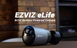 EZVIZ ra mắt camera pin sạc BC1C: sạc 1 lần, dùng 7 tháng