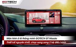 """GOTECH trình làng """"bom tấn"""" dành cho Mazda tích hợp AI với ngôn ngữ thiết kế Apple UI vạn người mê"""