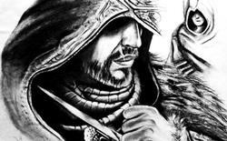 [Video] Phác họa Altair, Ezio, Connor siêu tốc