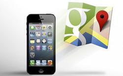 Google Maps trên iOS nhận bản cập nhật 1.1