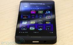 Sắp có BlackBerry Z10 chính hãng, giá 15 triệu đồng