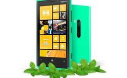 Lộ diện Lumia 920 phiên bản màu xanh lục