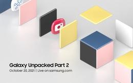 Samsung công bố sự kiện Unpacked 2 sẽ diễn ra vào ngày 20 tháng 10