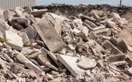 """Bê tông """"xanh"""" tái chế sử dụng chất thải xây dựng và CO2 bị thu giữ"""