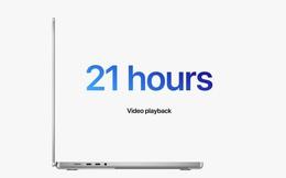 Thời lượng pin của MacBook Pro mới rất ấn tượng