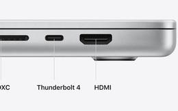 MacBook Pro mới giá hơn 2000 USD nhưng chỉ được trang bị chuẩn HDMI 2.0 khá cũ
