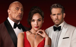 """Siêu bom tấn Red Notice tung trailer mới: The Rock và Ryan Reynolds dắt nhau vào tù vì bị """"chị đẹp"""" Gal Gadot xỏ mũi"""
