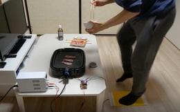 Nhà sáng chế trẻ người Nhật tự chế bếp nướng điện độc đáo, nướng thịt bằng chính việc chạy bộ