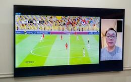 Xem bóng đá bằng TV Samsung Neo QLED 8K: Trải nghiệm mãn nhãn chưa từng thấy, âm thanh ấn tượng cùng hàng tá tính năng thông minh