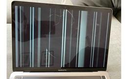 Nhiều người dùng liên tục phản ánh tình trạng màn hình MacBook M1 nứt mà không có lí do
